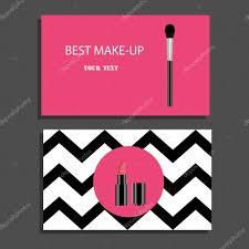 makeup artist business cards vector mugeek vidalondon