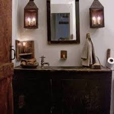 Primitive Bathroom Decor With Old Primitive Medicine Cabinet With