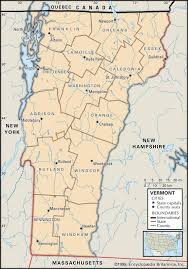 Washington State County Map by Maps Of Vermont Mapofus Org