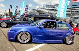 silver volkswagen blue volkswagen golf mk4 on silver wheels vw golf tuning