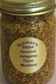 ground mustard ground jalapeno dijon mustard guzmans salsa