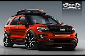 Ford Explorer Old - ford previews explorer edge concepts for sema