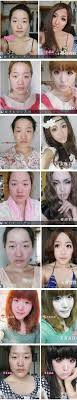 old asian man turns into woman with makeup