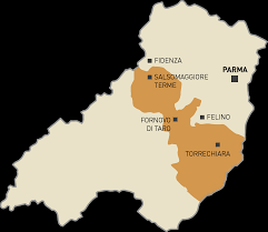 Parma Italy Map by Di Parma Emilia Lambrusco