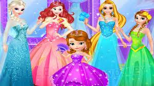Ariel Clothes For Toddlers Disney Princess Elsa Anna Ariel Rapunzel U0026 Sofia Go Shopping