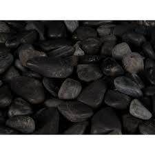 Large Pebbles For Garden Beach by Ms International 40 Lb Ash Beach River Rock Bag Lhdpebqash5pol40
