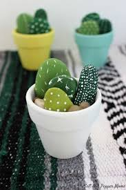 Ceramic Desk Accessories Painted Mini Cactus Desk Accessories Office Desks And Cacti