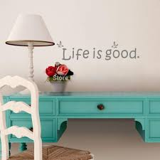 online get cheap words quote wall stickers aliexpress life good inspirational quotes wall decals encouragement words stickers vinyl art mural for home
