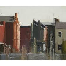 stuart shils kensington rowhouses morning light artsy