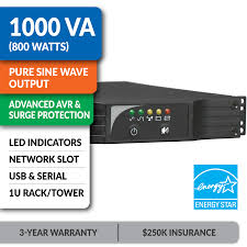 amazon com tripp lite 1000va smart ups back up sine wave avr