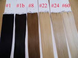 glued in hair extensions 100g 18 20 22 24 inch glue skin weft pu in human hair