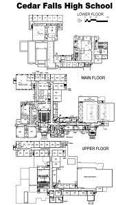 high school floor plans pdf cedar falls community school district
