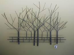 remarkable winter tree decorative outdoor metal wall art popular