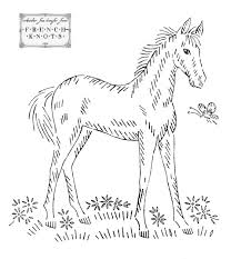 vintage embroidery transfer patterns horses