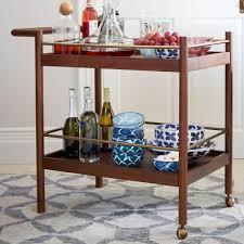 modern drink table mid century bar cart west elm au