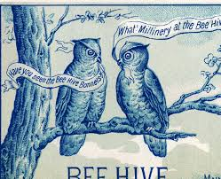 quirky vintage owls image the graphics fairy