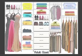 closet design made using ccds image design software design