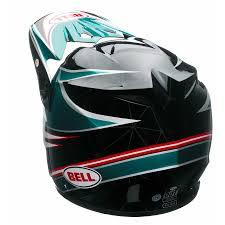 motocross helmet with visor motocross helmet bell mx 9 airtrix paradise insportline