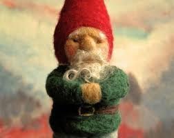 felt gnome etsy