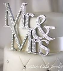 bling cake toppers swarovski wedding cake toppers wedding corners