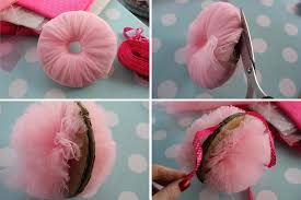 tulle pom poms tulle pom pom decorations how to make a pom poms other on cut