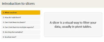 when to use pivot tables excel slicers introduction what are they how to use them tips
