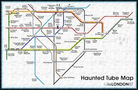 George Mason Map The Haunted Tube Map Londonist
