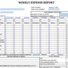 Monthly Expense Report Template Excel General Monthly Expense Form And Template Sle Helloalive