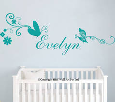 unicorn horse kid s name removable vinyl wall decal jr decal name wall stickers
