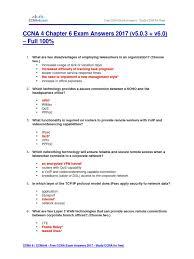 free ccna study guide ccna 4 chapter 6 exam answers 2017 v5 0 3 v6 0 u2013 full 100