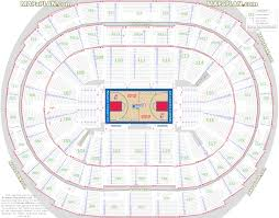 staples center seat numbers detailed seating chart la california