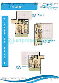 fairview residency floor plans justproperty com