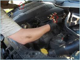 mercedes engine recommendations how to replace the air filter e c ml clk cls g glk mercedes