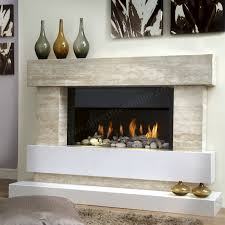 Travertine Fireplace Hearth - travertine fireplace fireplace packages evolution 500
