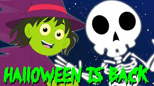 kids halloween clipart halloween is back scary rhymes kids songs nursery rhymes