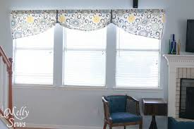 Free Valance Pattern Project Redecorate Sew Curtains Melly Sews