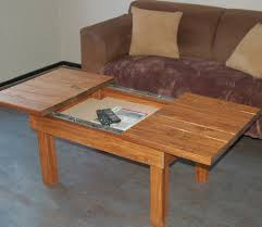 coffee table with storage compartment 3 steps with pictures