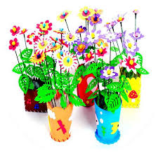 flower pot favors flower pot children diy craft kids educational toys