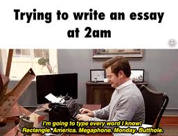 Typing Meme - typing a paper