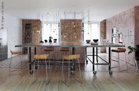 cuisine de loft loft original à la décoration rock n roll un trésor d