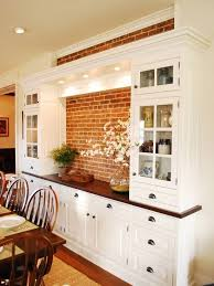 dining room hutch ideas bulit in dining room hutch with white color the wooden houses