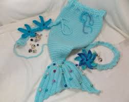 Infant Mermaid Halloween Costume Baby Mermaid Etsy