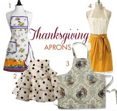 paper glam glam thanksgiving aprons