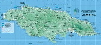 jamaica physical map jamaica map map of jamaica jamaican map kingston jamaica