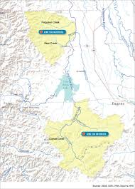 Eugene Map Long Tom Watershed Council Model Watershed Program