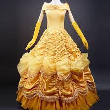 Belle Halloween Costume Beauty Beast Costume Women Princess Belle Costume