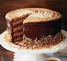 mother u0027s day chocolate hazelnut coffee cake and sprinkles