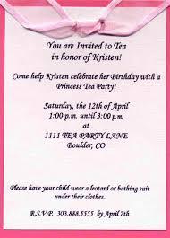 Sample Of Birthday Invitation Card For Kids Birthday Party Invite Wording U2013 Gangcraft Net