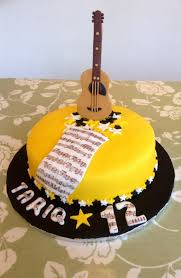 guitar cake topper fathers day cake toppers shop fathers day cake toppers online