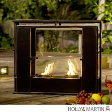 holly u0026 martin walton portable indoor outdoor gel fireplace 37 249